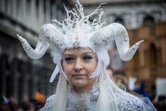 Wenecja karnawał 2015 Obrazy Royalty Free