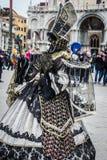 Wenecja karnawał 2015 Fotografia Royalty Free
