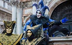 Wenecja karnawał 2015 Obraz Royalty Free