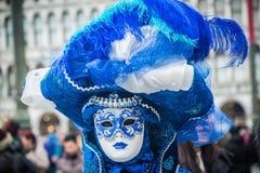 Wenecja karnawał 2015 Zdjęcia Royalty Free