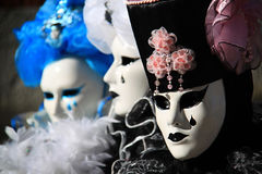 Wenecja karnawał 2016 Zdjęcia Stock