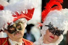 Wenecja karnawał - maski zdjęcie royalty free