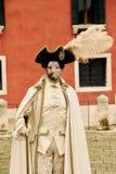Wenecja karnawał Paricipant Fotografia Royalty Free