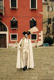 Wenecja karnawał Paricipant Obrazy Royalty Free