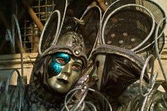 Wenecja karnawału maski Zdjęcia Royalty Free