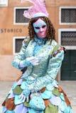Wenecja karnawa? 2017 venetian maskuj?cy w?ochy Wenecji Karnawał jest znacząco wydarzeniem rok w Wenecja fotografia royalty free