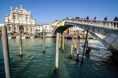 Wenecja, kościół święty Mary Nazareth Fotografia Royalty Free