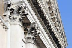 Wenecja kolumnada. Włochy. obrazy stock