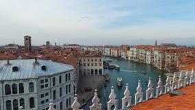 Wenecja: Kopuły i kościół Zdjęcia Stock