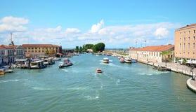 Wenecja krajobraz Fotografia Stock