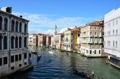 Wenecja krajobraz Zdjęcia Stock