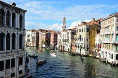 Wenecja krajobraz Zdjęcia Royalty Free