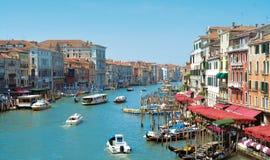 Wenecja krajobraz Obrazy Royalty Free