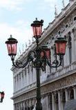 Wenecja lampion Obrazy Royalty Free