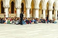 Wenecja Młodzi chrześcijanie Zdjęcia Stock