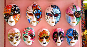 Wenecja maski Obrazy Royalty Free