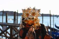 Wenecja maski karnawał Zdjęcia Royalty Free
