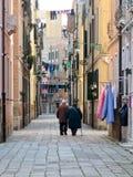 Wenecja miasta geometria panoramiczna obrazy stock