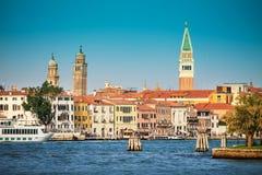 Wenecja miasto w słonecznym dniu Obraz Royalty Free