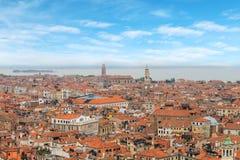 Wenecja miasto w słonecznym dniu Zdjęcie Royalty Free