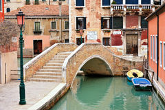 Wenecja most Obraz Royalty Free