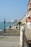 Wenecja nadbrzeże, Włochy Zdjęcia Stock