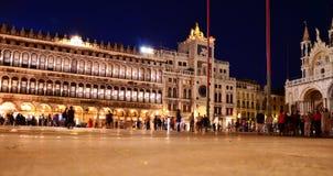 Wenecja nocy krajobraz Obrazy Stock