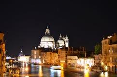 Wenecja nocy krajobraz Zdjęcie Stock