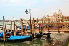 Wenecja łodzie Obraz Royalty Free
