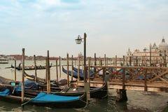 Wenecja łodzie Obrazy Royalty Free