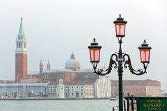 Wenecja pejzaż miejski Obraz Royalty Free
