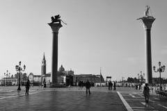Wenecja pejzaż miejski Zdjęcia Royalty Free
