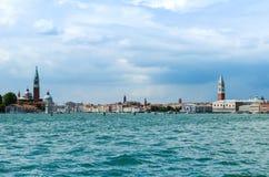 Wenecja pejzaż miejski Obrazy Stock