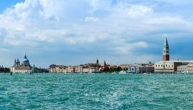 Wenecja pejzaż miejski Zdjęcia Stock
