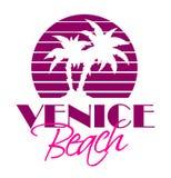 Wenecja plaża ilustracja wektor