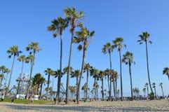 Wenecja plaża w Los aniołach Fotografia Royalty Free