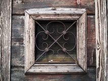 Wenecja - stara drewniana żaluzja fotografia royalty free