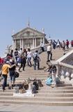 Wenecja. Turyści zdjęcia royalty free