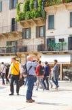 Wenecja turyści Obrazy Stock