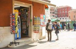Wenecja turyści Obraz Royalty Free