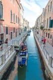 Wenecja ulicy Obrazy Royalty Free
