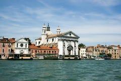 Wenecja Włochy, Czerwiec, - 21, 2010: Kościół I Gesuati Sta Maria del Rosario na Zattere w Wenecja zdjęcie royalty free