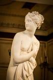 WENECJA WŁOCHY, CZERWIEC, - 27, 2016: Wenus statuy szczegół w Palazzo Du Obrazy Stock