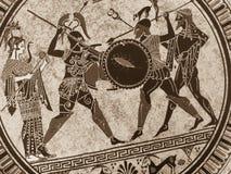 WENECJA WŁOCHY, LIPIEC, - 02, 2017: Szczegół od starego dziejowego gre Obrazy Royalty Free