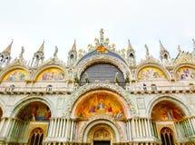 Wenecja Włochy, Maj, - 04, 2017: Szczegół St Mark bazylika Zdjęcia Royalty Free