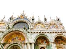 Wenecja Włochy, Maj, - 04, 2017: Szczegół St Mark bazylika Zdjęcia Stock