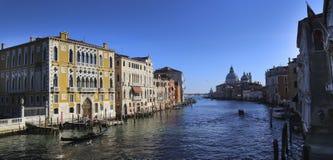 Wenecja, Włochy, 6pm Styczeń 2017 Zdjęcie Royalty Free