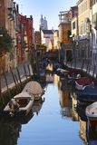 Wenecja, Włochy, 6pm Styczeń 2017 obraz royalty free