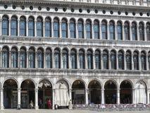20 06 2017, Wenecja, Włochy: St Mark ` s kwadrat pałac d Zdjęcia Stock