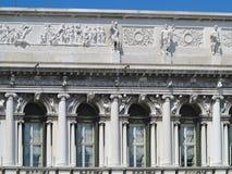 20 06 2017, Wenecja, Włochy: St Mark ` s kwadrat pałac d Zdjęcie Royalty Free